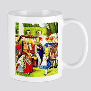 """Off With Her Head,"" shouts the Queen o Mug"