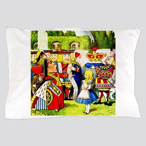 """Off With Her Head,"" shouts the Queen Pillow Case"