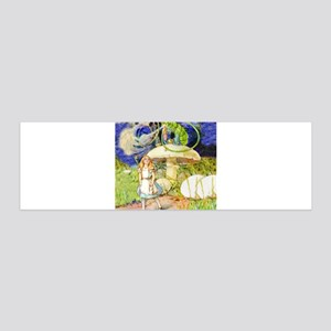 Alice and the Caterpillar 36x11 Wall Decal