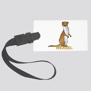 Weasel Large Luggage Tag