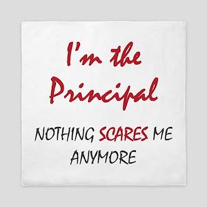 Nothing Scares Principal Queen Duvet