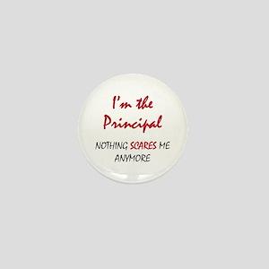 Nothing Scares Principal Mini Button
