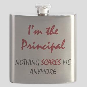 Nothing Scares Principal Flask