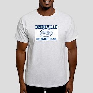 BRONXVILLE drinking team Light T-Shirt