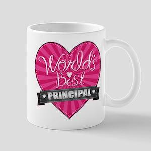 Best Principal Heart Mug