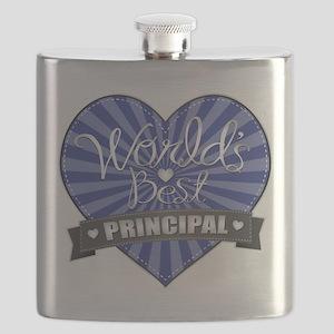 Best Principal Heart Flask