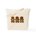 Gingerbread Men Tote Bag