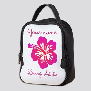 Living Aloha (personalized) Neoprene Lunch Bag