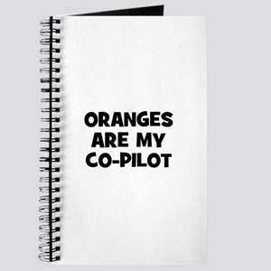 oranges are my co-pilot Journal