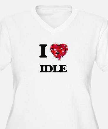 I love Idle Plus Size T-Shirt