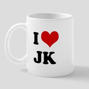 I Love JK  Mug