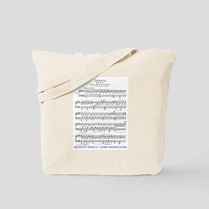 Moonlight-Sonata-Ludwig-Beethoven Tote Bag