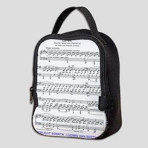 Moonlight-Sonata-Ludwig-Beethov Neoprene Lunch Bag