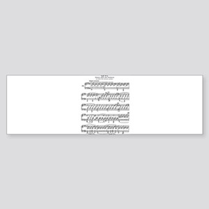 Moonlight-Sonata-Ludwig-Beethoven Bumper Sticker