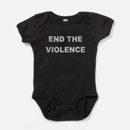 Cute Anti violence Baby Bodysuit