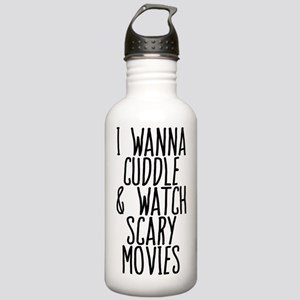 Cuddle and Watch a Mov Stainless Water Bottle 1.0L