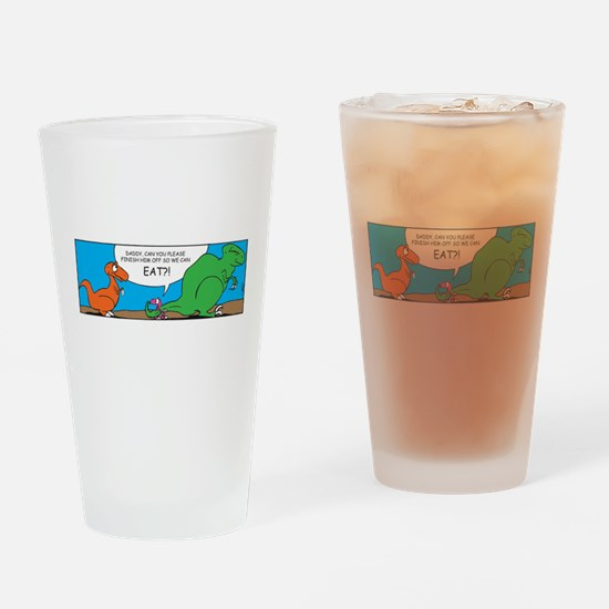 TYEISHA REX Drinking Glass