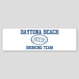 DAYTONA BEACH drinking team Bumper Sticker