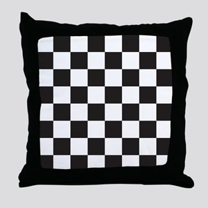 Checkered Throw Pillow