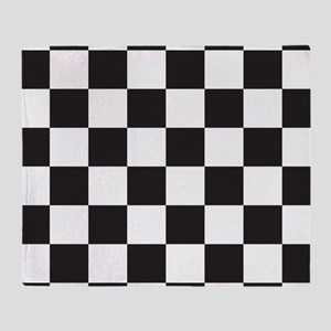 Checkered Throw Blanket