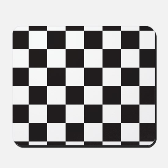 Checkered Mousepad