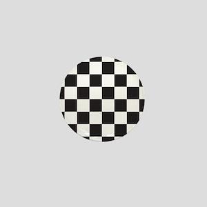 Checkered Mini Button