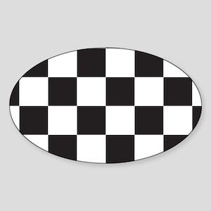 Checkered Sticker