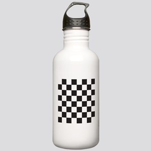 Checkered Water Bottle