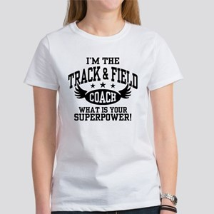 Track And Field Coac Women's Classic White T-Shirt