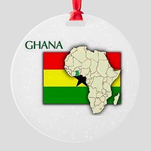 kente Round Ornament