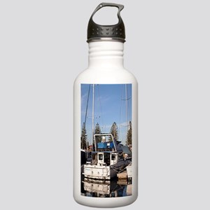 Boats in Marina, New H Stainless Water Bottle 1.0L