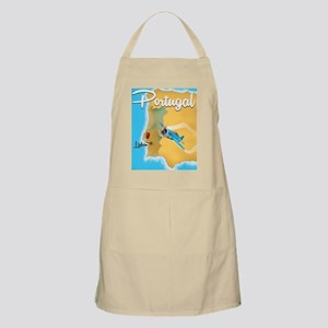 Portugal travel poster  Apron