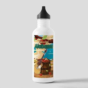 Alabama vintage travel Stainless Water Bottle 1.0L