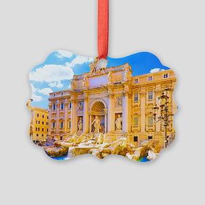 Rome, Italy - Cinque Terre Picture Ornament