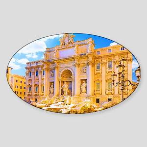 Rome, Italy - Cinque Terre Sticker (Oval)