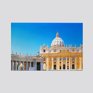 Rome, Italy - St. Peters Basilica Rectangle Magnet