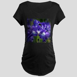 iris garden Maternity T-Shirt