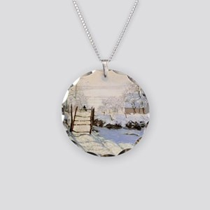 Magpie by Monet Necklace Circle Charm