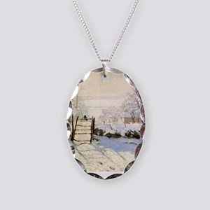 Magpie by Monet Necklace Oval Charm