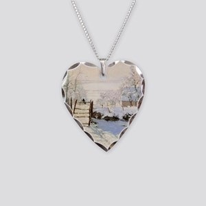 Magpie by Monet Necklace Heart Charm