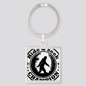 Hide and seek world champion Square Keychain