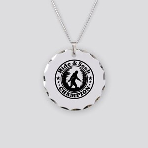 Hide and seek world champion Necklace Circle Charm