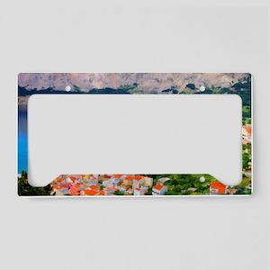 Croatia Portside License Plate Holder