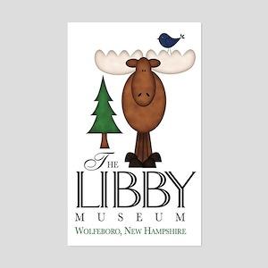 Libby Moose Wolfeboro  Sticker (Rectangle)