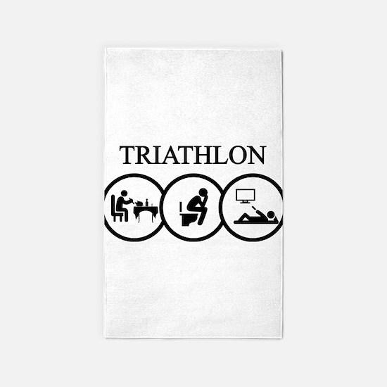 triathlon Area Rug
