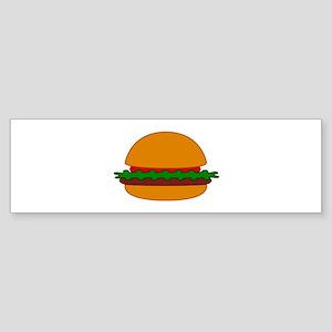 Hamburger Bumper Sticker