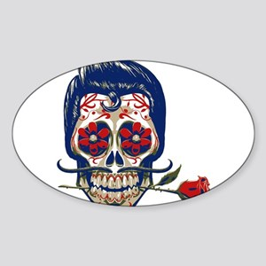 Old School Skull Sticker