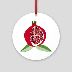 Pomegranate Ornament (Round)