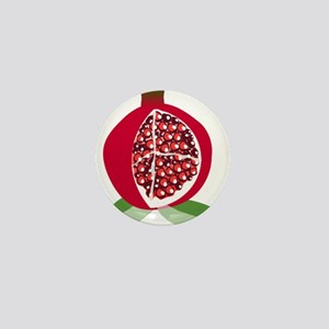 Pomegranate Mini Button
