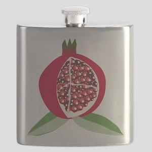 Pomegranate Flask